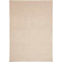 Colours Isabelle Cream Geometric Rug (L)2.3m (W)1.6m