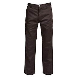 "Rigour Black Work Trousers W36-38"" L32"""