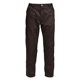 """Rigour Action Black Trousers W30-32"""" L32"""""""