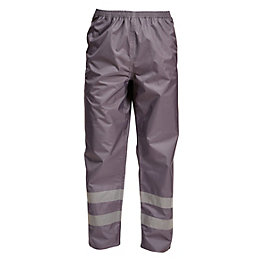 "Rigour Grey Work Trousers W33-34"" L32"""