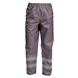 "Rigour Grey Work Trousers W36-38"" L32"""