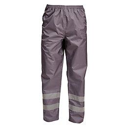 "Rigour Grey Work Trousers W40-41"" L32"""