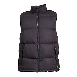 Rigour Black Bodywarmer Extra Large
