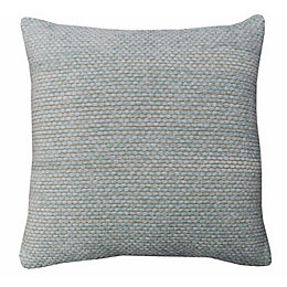 Carpel Plain Duck Egg Cushion