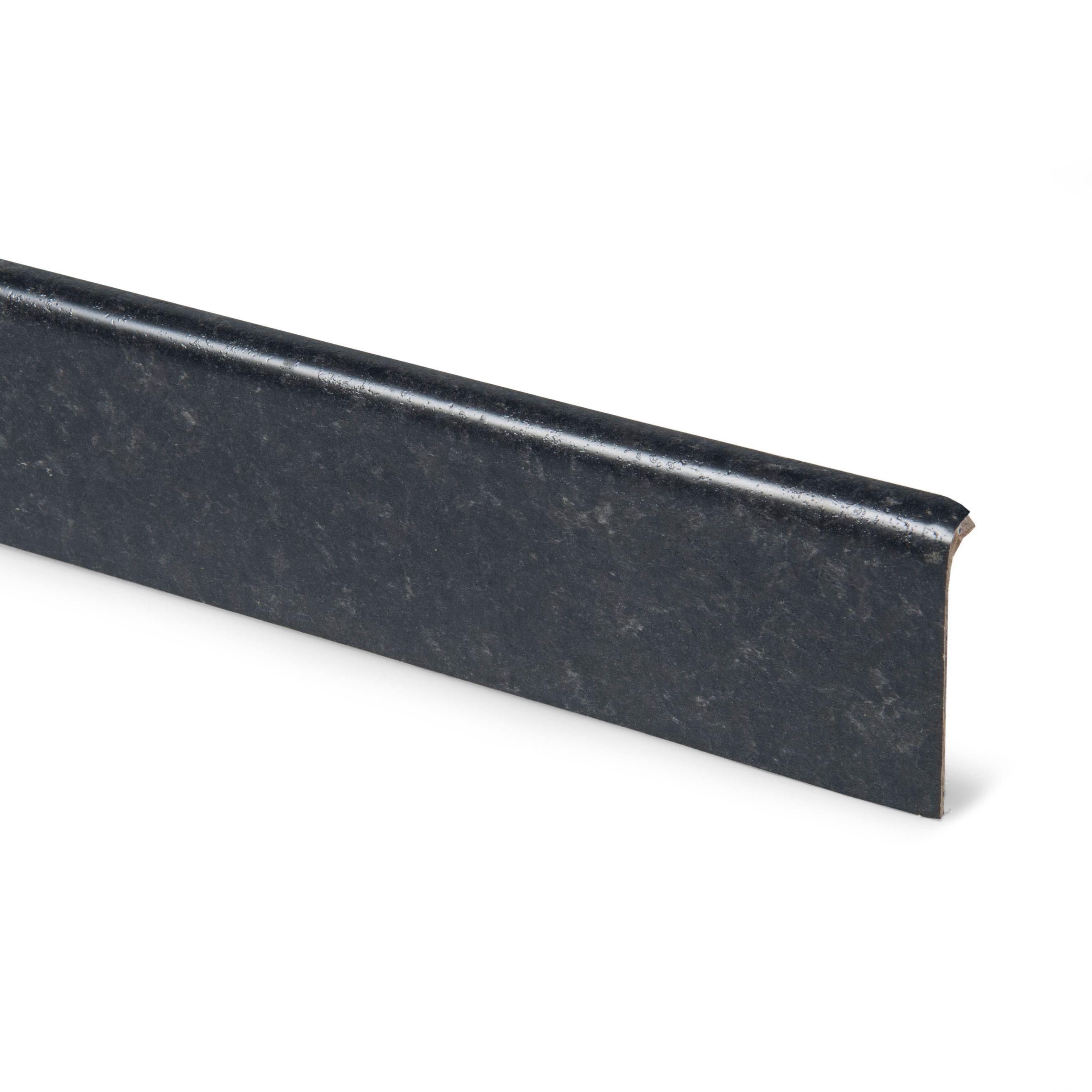 12mm lima black laminate upstand departments diy at b q for Zinc laminate