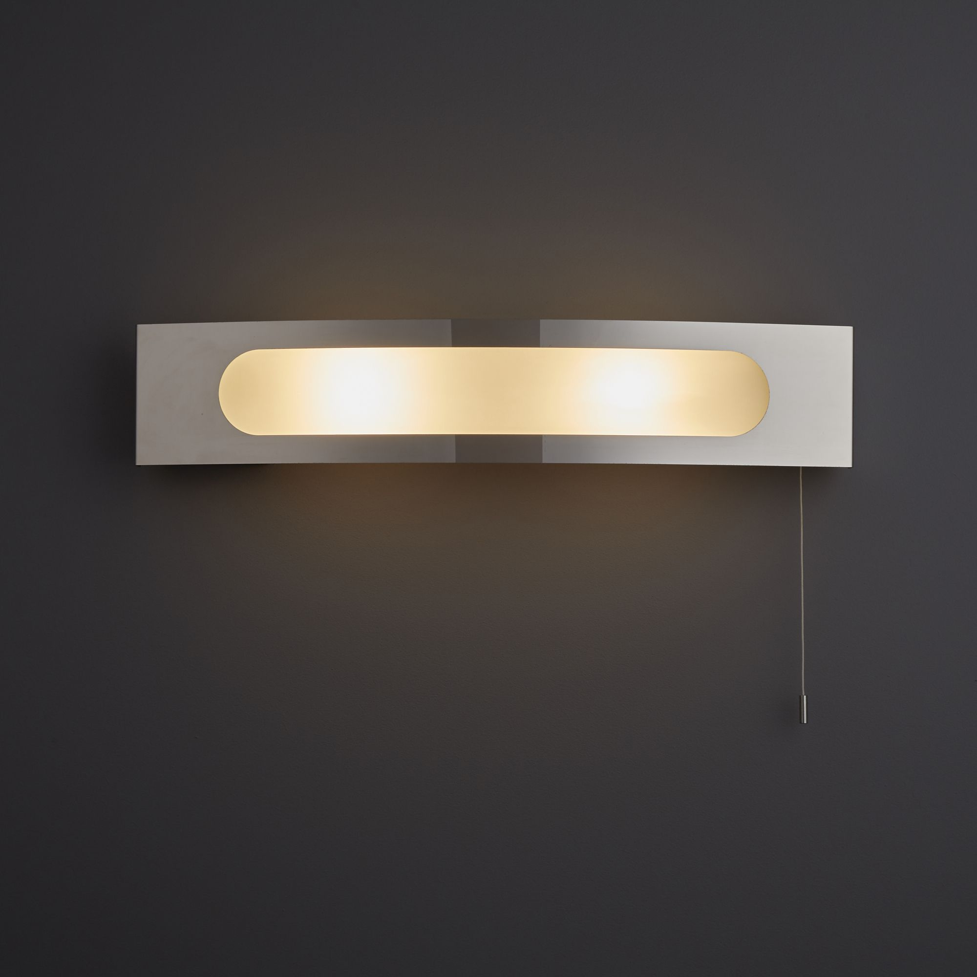 Escala Chrome Effect Bathroom Wall Light