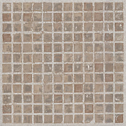 Value Natural Mosaic Effect Self Adhesive Vinyl Tile