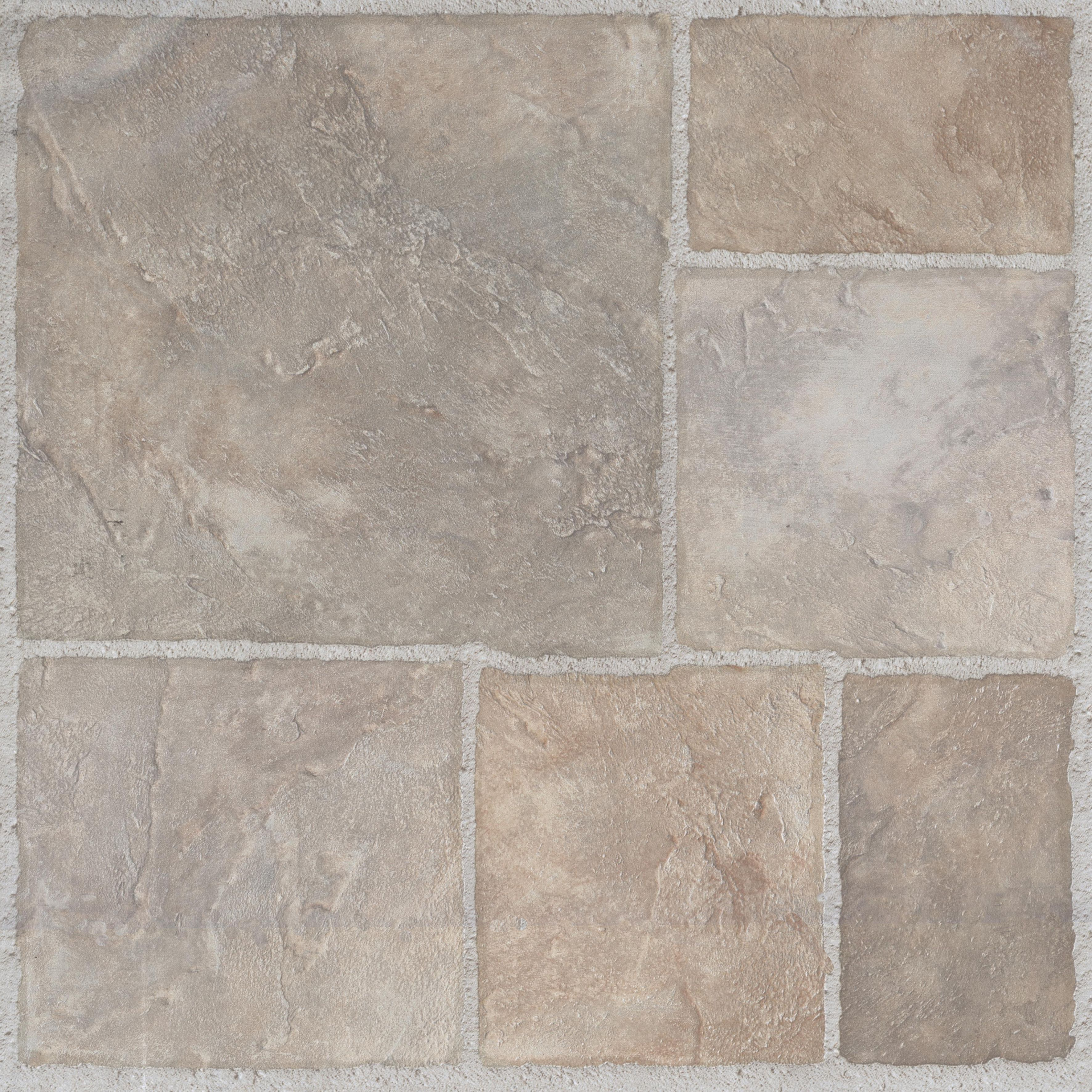 Colours Natural Stone Effect Self Adhesive Vinyl Tile 1.02 M² Pack