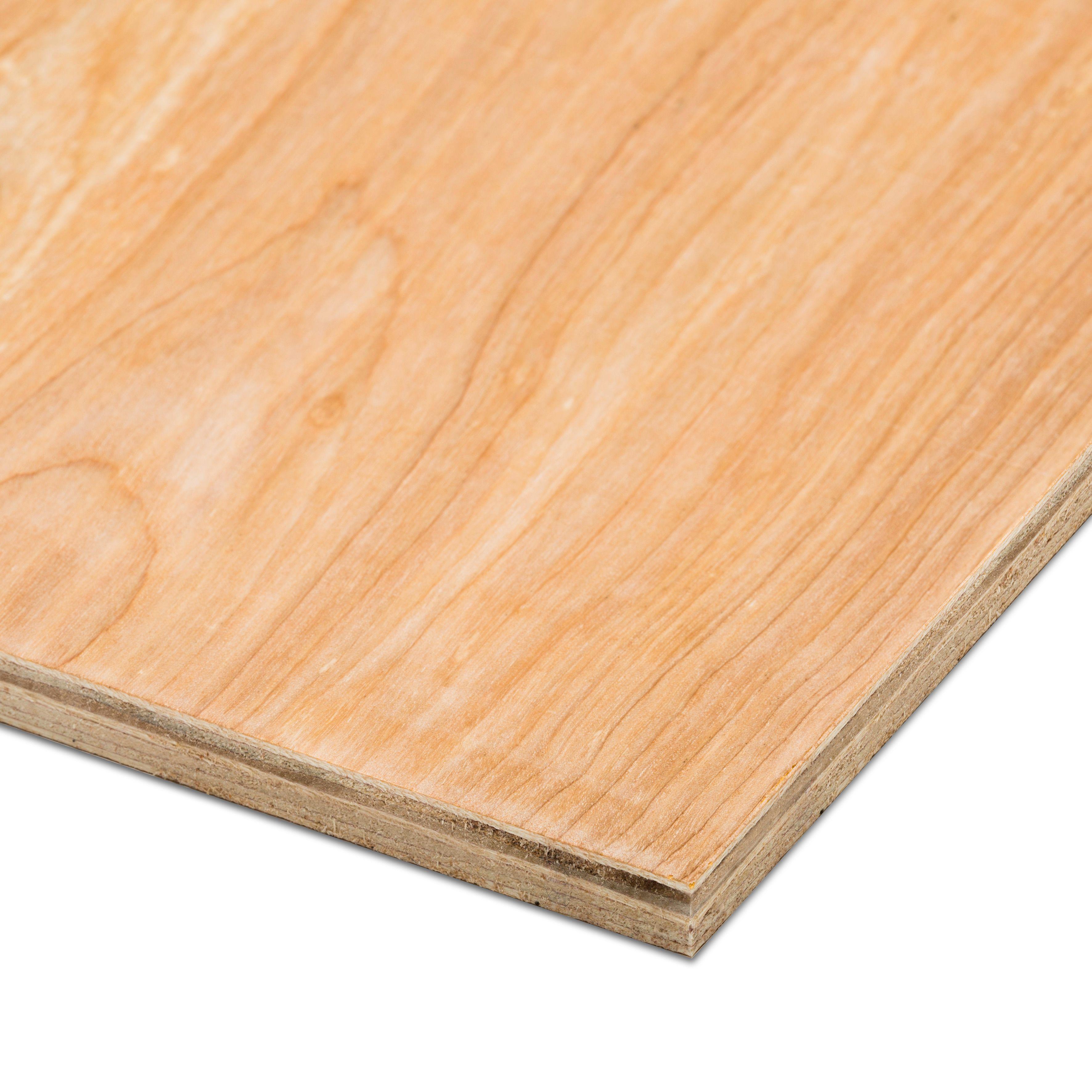 Hardwood plywood th mm w l