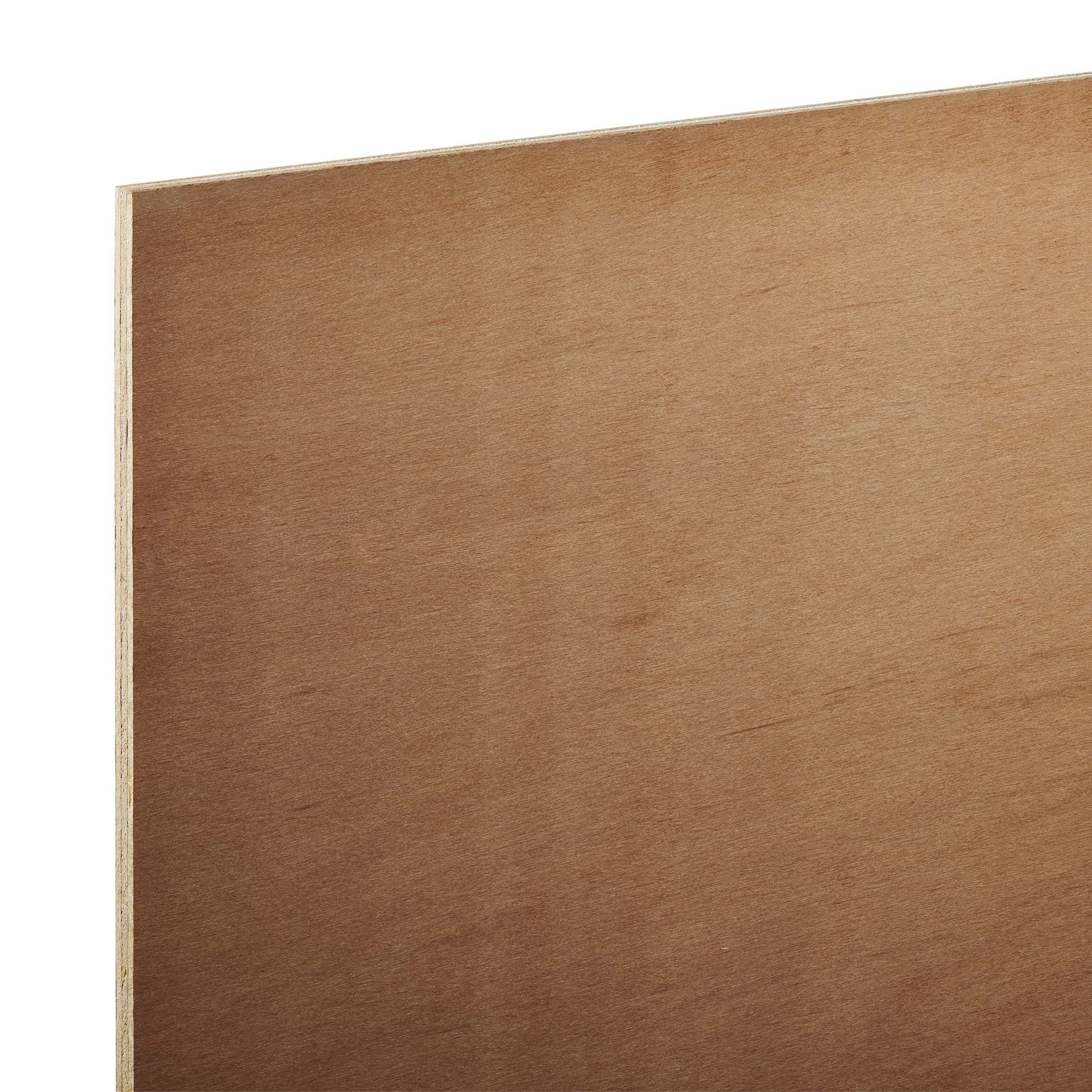 Hardwood board th mm w l pack of