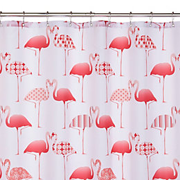 Pink Flamingos Shower Curtain (L)1.8 M