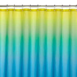 Multicolour Ombre Shower Curtain (L)1.8 M
