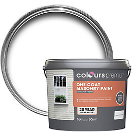 Colours Premium Pure Brilliant White Smooth Matt Masonry