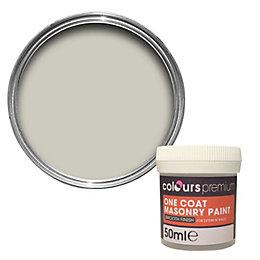 Colours Premium Magnolia Cream Smooth Masonry Paint 50ml