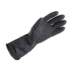 B&Q Large Heavy Duty Rubber Gloves Of 1