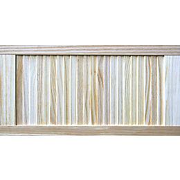 Pine Unglazed Internal Louvre Door (H)762mm (W)381mm