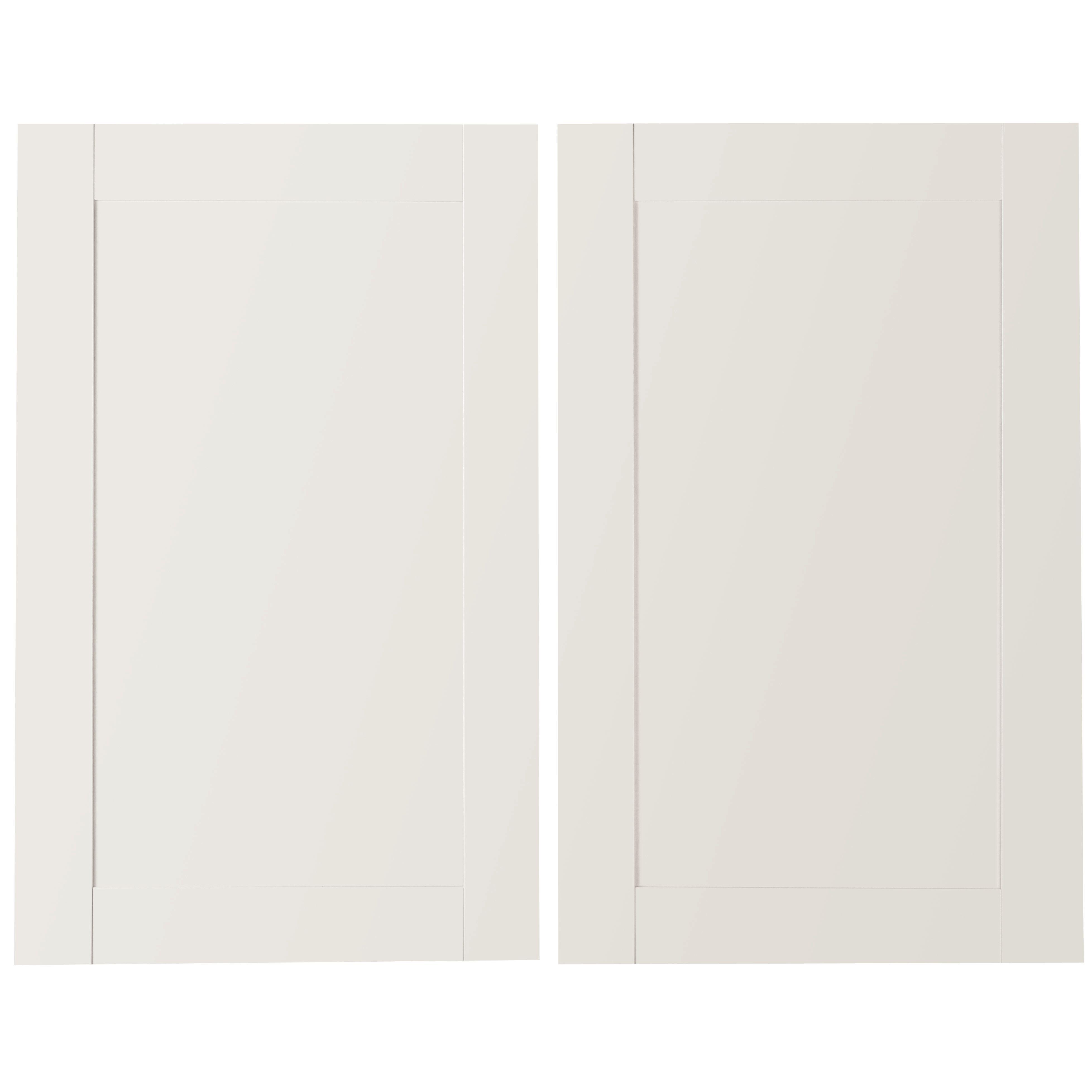 It Kitchens Westleigh Ivory Style Shaker Larder Door (w)600mm, Set Of 2