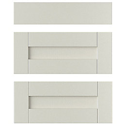 IT Kitchens Brookfield Textured Mussel Style Shaker Drawer