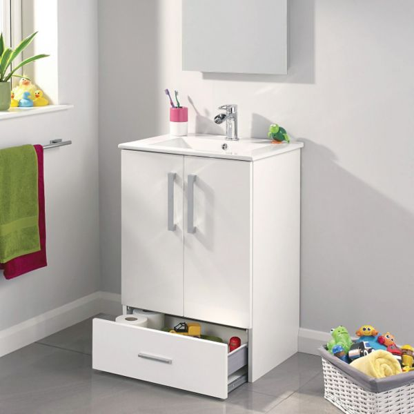 Kiddie Step Freestanding Bathroom Furniture