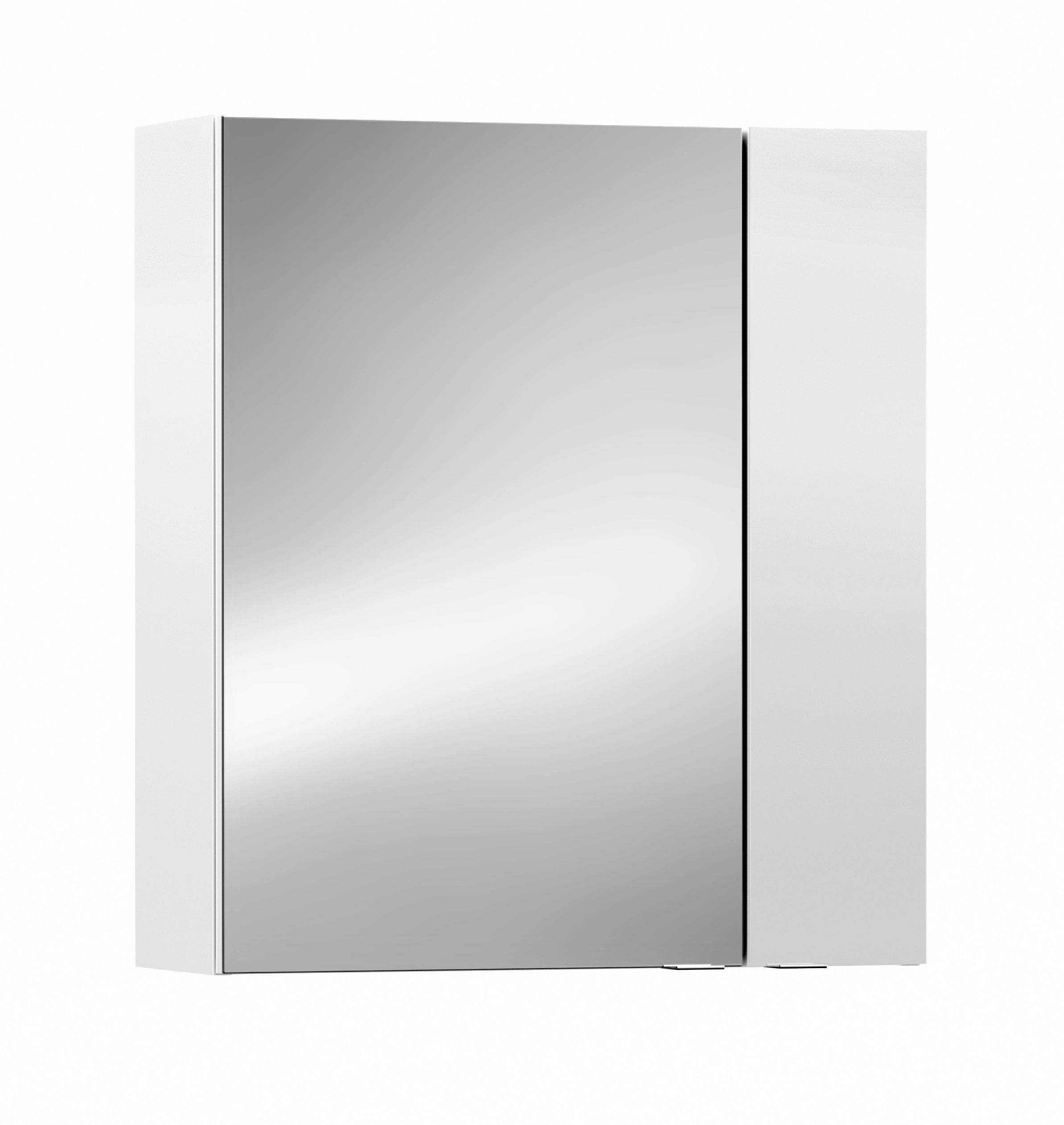 Cooke Lewis Paolo Gloss White Mirror Cabinet