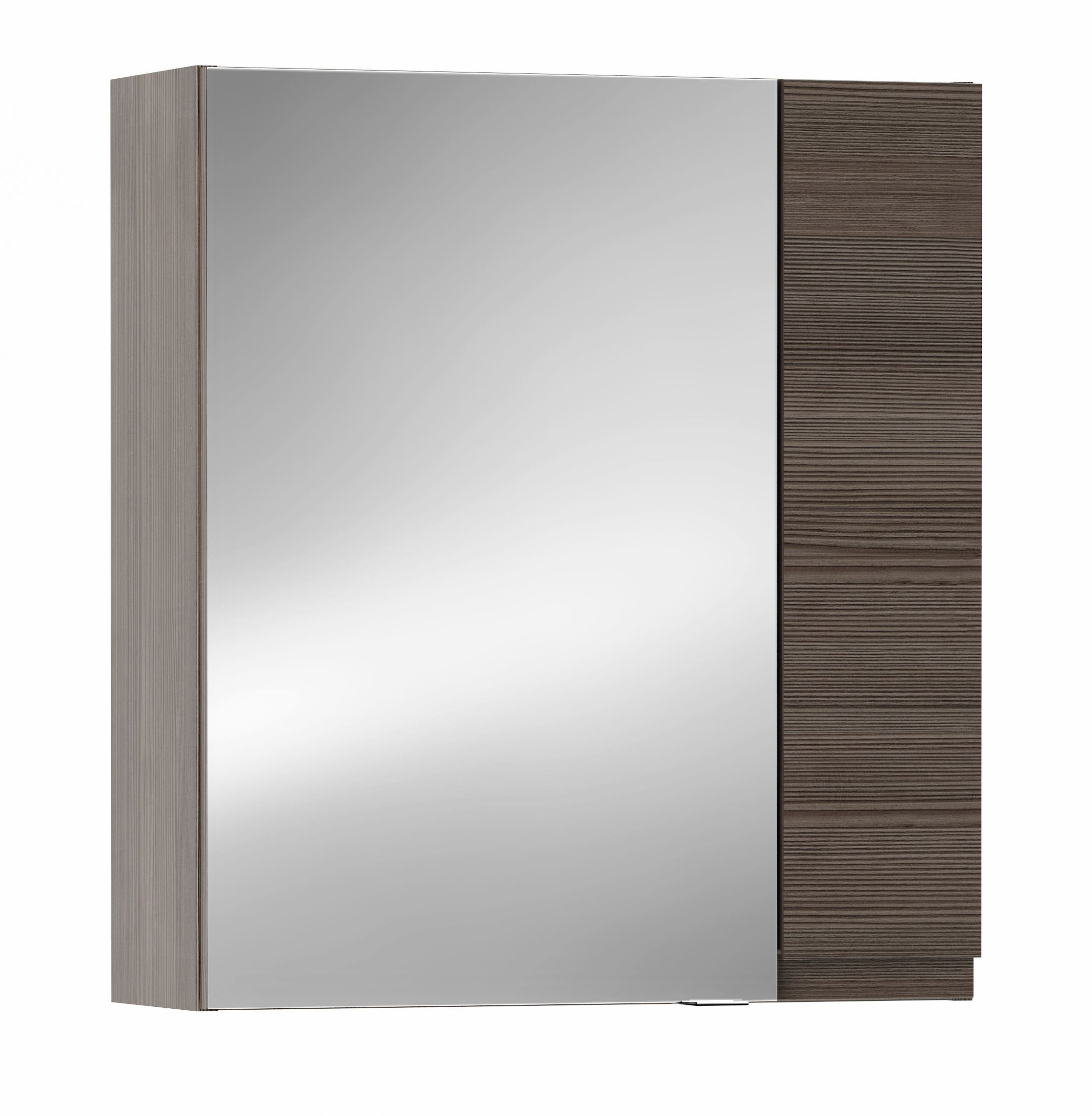 Cooke lewis paolo bodega grey mirror cabinet for B q bathroom cabinets