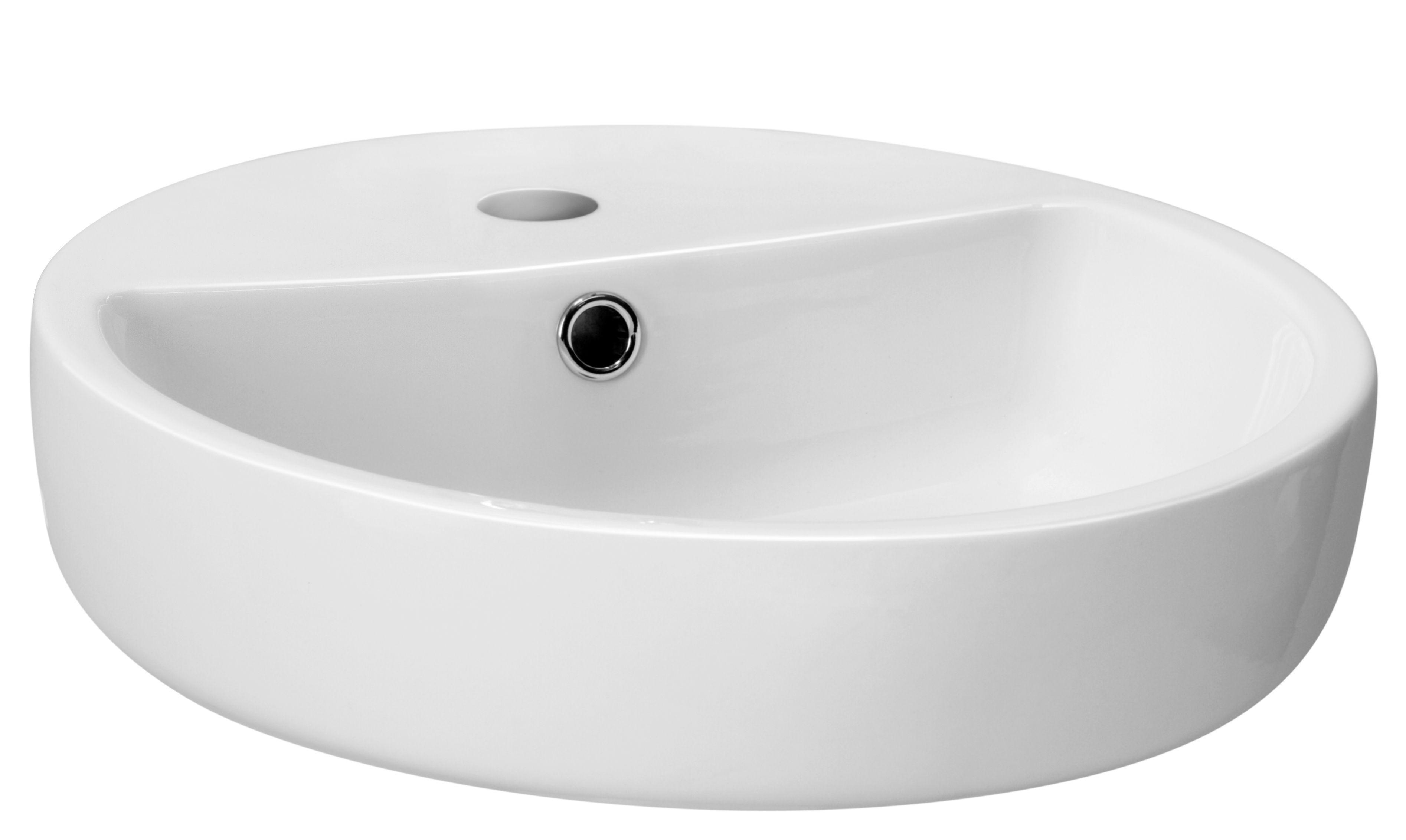 Bathroom Sinks B&Q Ireland nicolina white countertop basin | departments | diy at b&q