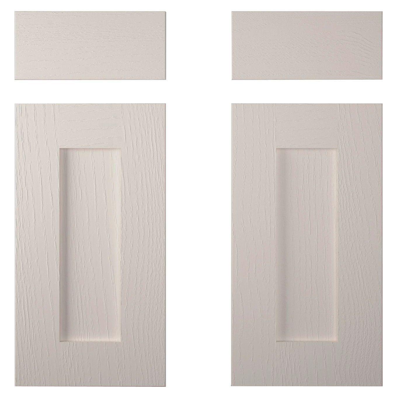 Cooke & Lewis Carisbrooke Cashmere Corner Base Drawer Line Door (w)925mm, Set Of 2