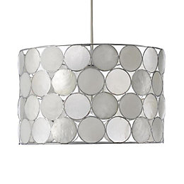 Colours Gilort Natural Circles Lamp Shade (D)29cm