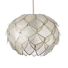 Colours Elvira Natural Artichoke Lamp Shade (D)20cm