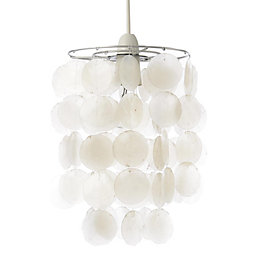 Colours Hamun Natural 2 Tier Pendant Light Shade