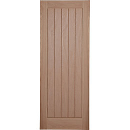 Cottage Panelled Pre-Finished Internal Unglazed Door, (H)1981mm