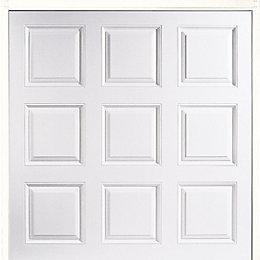 New York Framed Retractable Garage Door