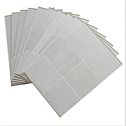 Barbarita Limestone Effect Laminate Flooring Sample