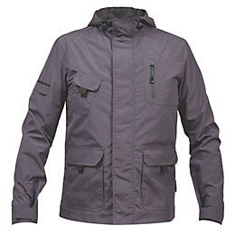 Rigour Grey Lightweight Jacket Extra Large
