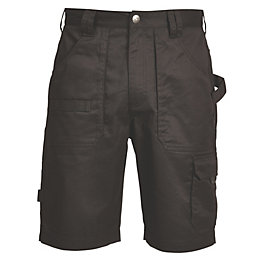 Rigour Black Work Shorts W32""