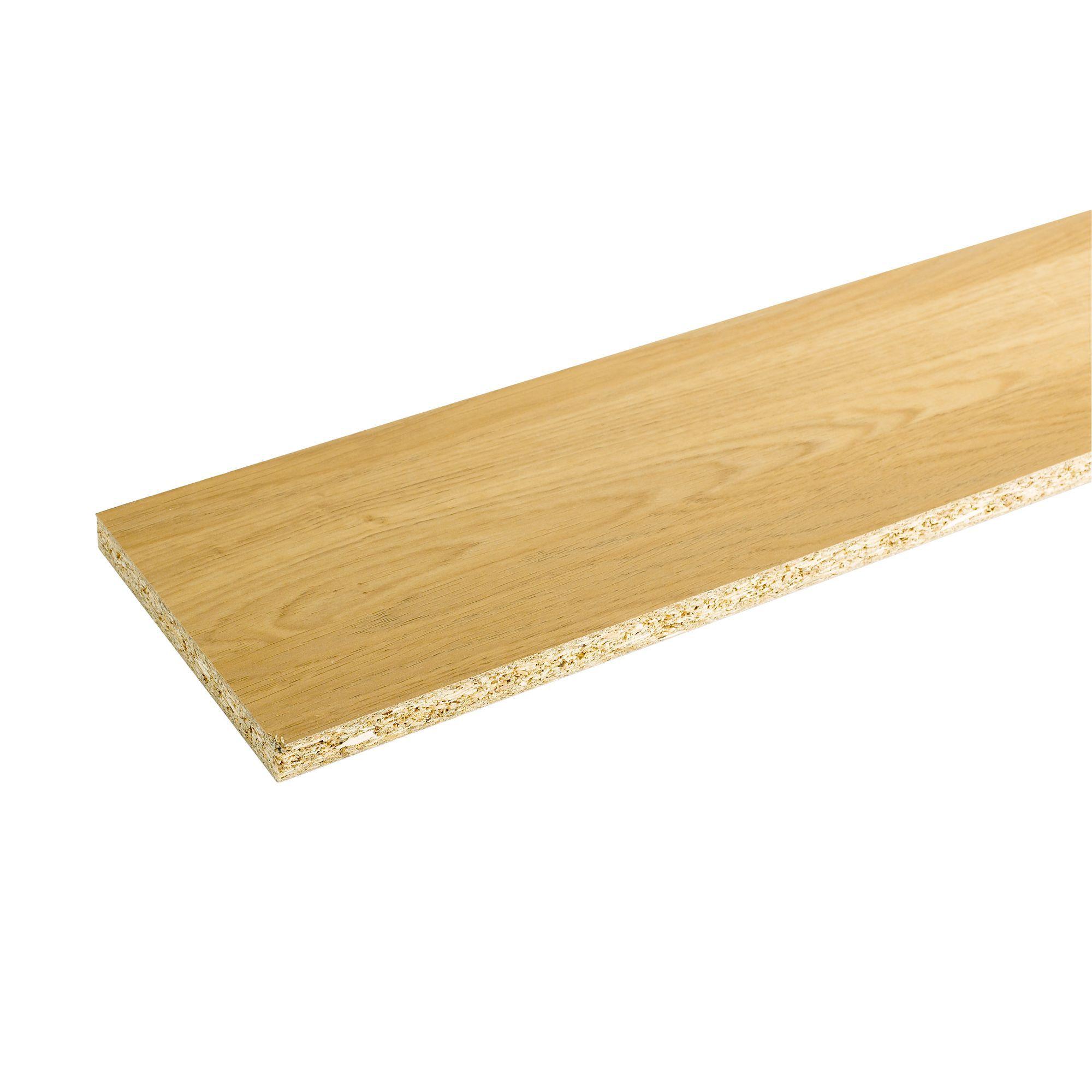 It Kitchens Matt Natural Oak Effect Straight Plinth L 2 44m