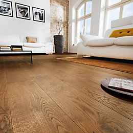 Colours Monito Smoked Oak Real Wood Top Layer