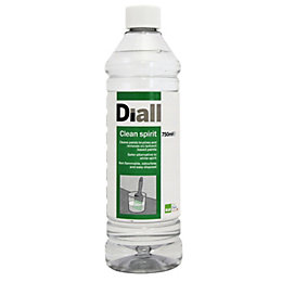 Diall Clear Water Based Clean Spirit 0.75L