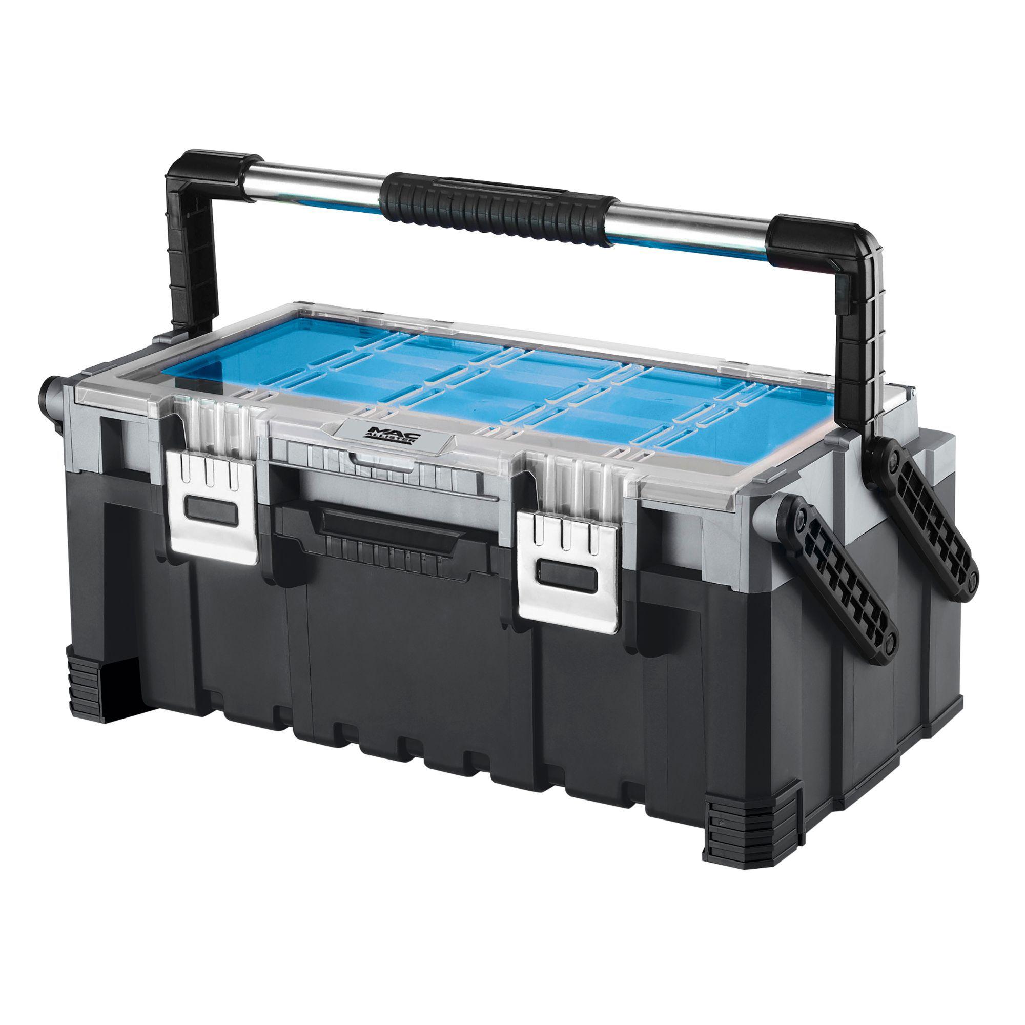 Mac Allister Cantilever Tool Box Departments Diy At B Amp Q