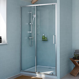 Cooke & Lewis Exuberance Single Sliding Shower Door