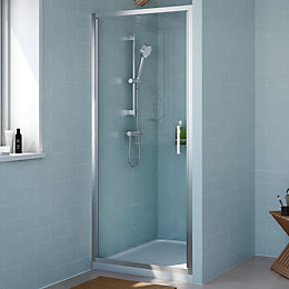 Cooke & Lewis Exuberance Hinged Shower Door (W)800mm