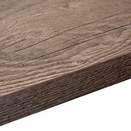 38mm B&Q Mountain Timber Square Edge Kitchen Worktop
