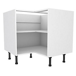 Cooke & Lewis White Corner Base Cabinet (W)925mm