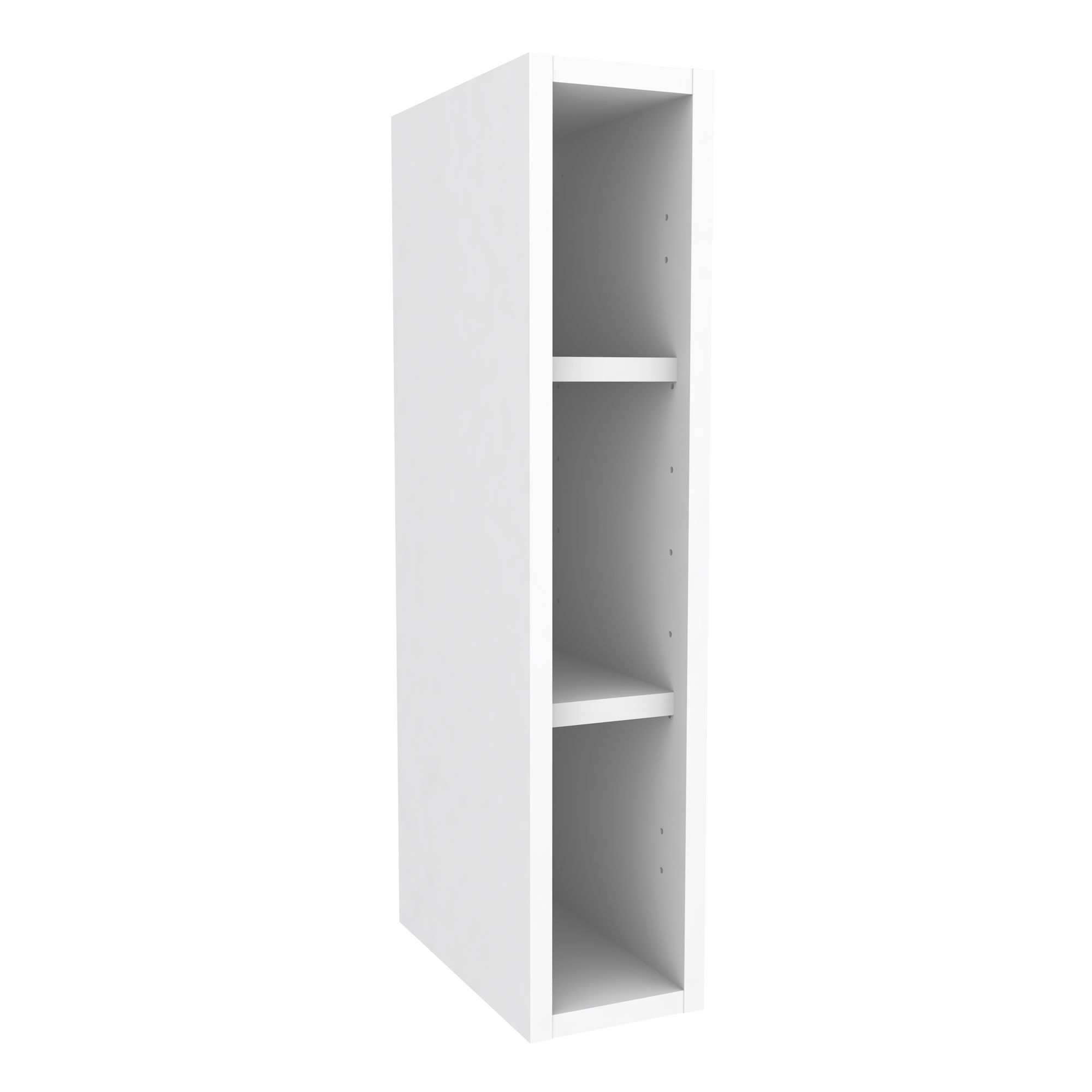 Cooke lewis white standard wall cabinet w 150mm for Kitchen wall units b q
