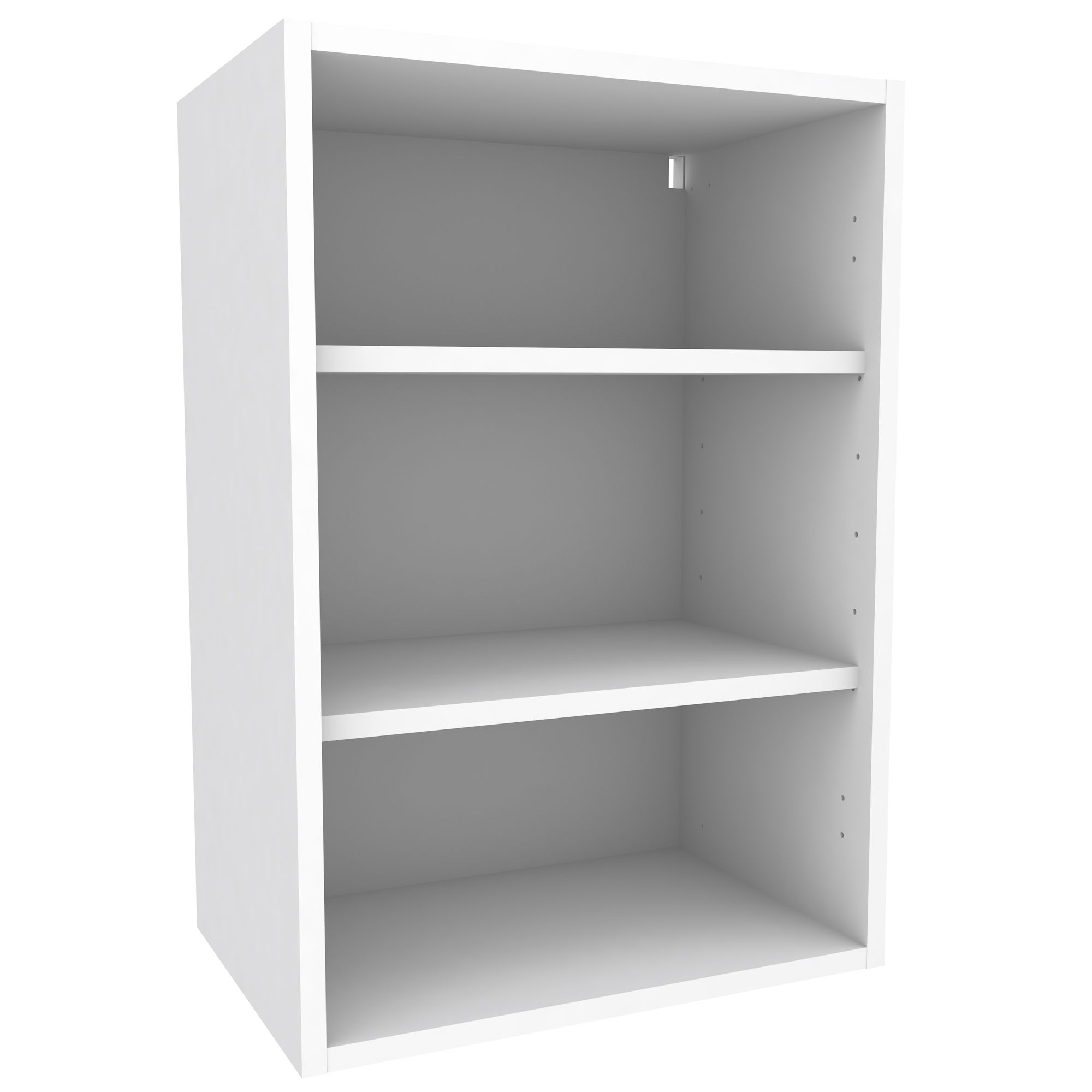 Cooke Lewis White Standard Wall Cabinet W 500mm Departments DIY
