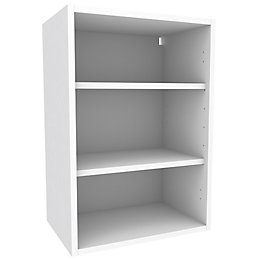 Cooke & Lewis White Standard Wall Cabinet (W)500mm
