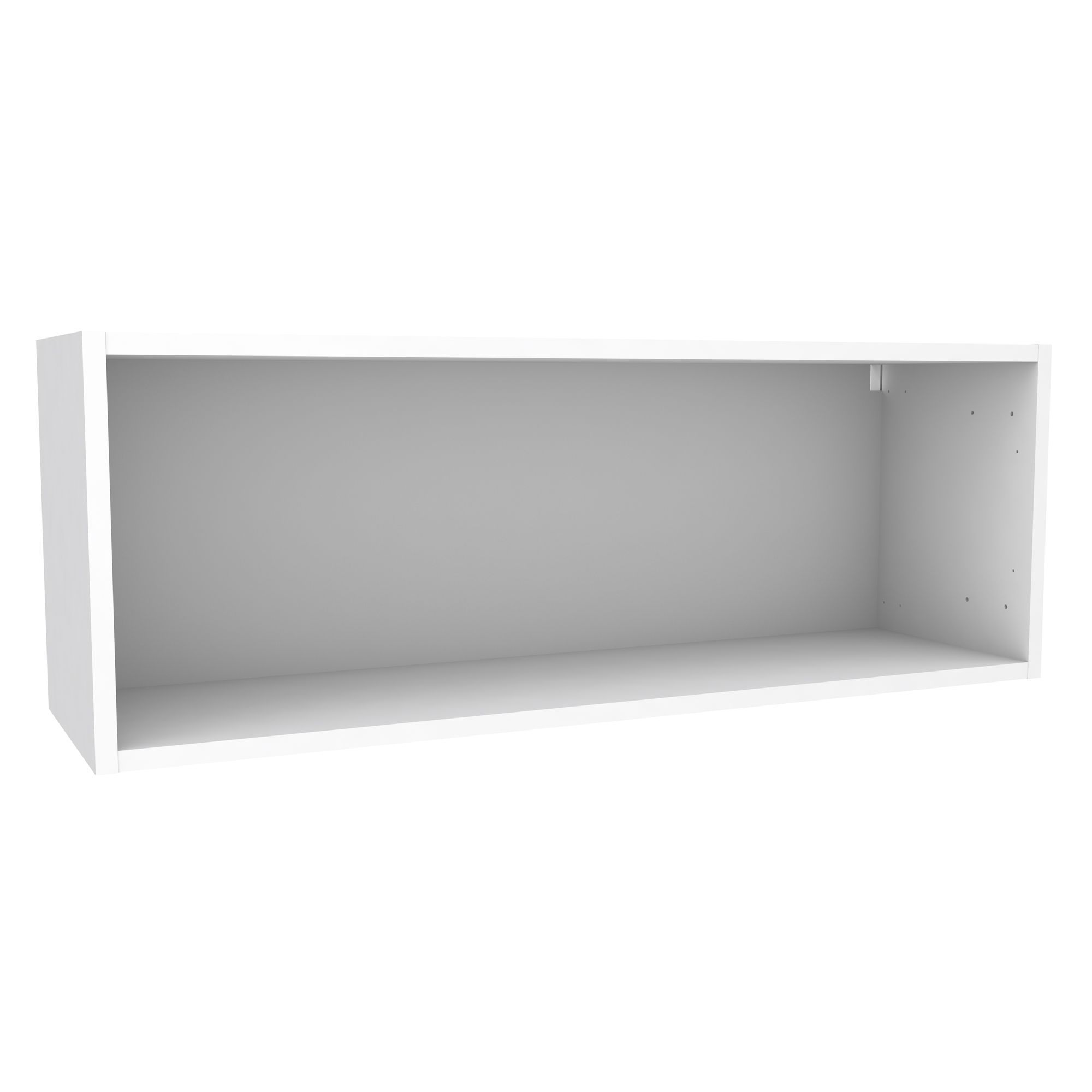 Flat pack bathroom cabinets - Cooke Lewis White Bridging Wall Cabinet W 1000mm