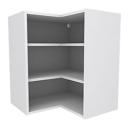Cooke & Lewis White Deep Corner Wall Cabinet
