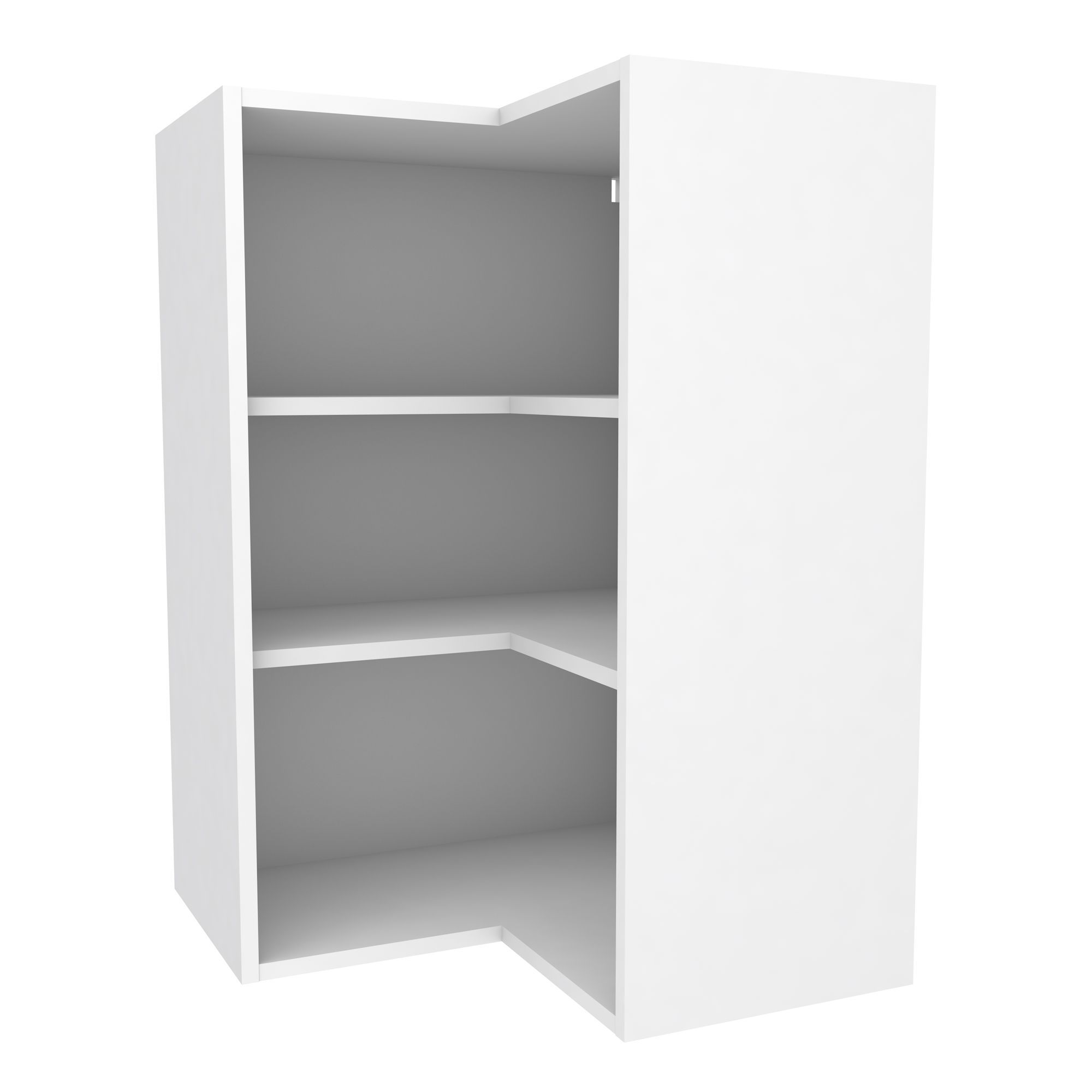 Cooke & Lewis White Corner Tall Wall Cabinet (w)625mm