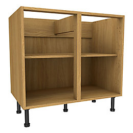 Cooke & Lewis Oak Effect Standard Base Cabinet